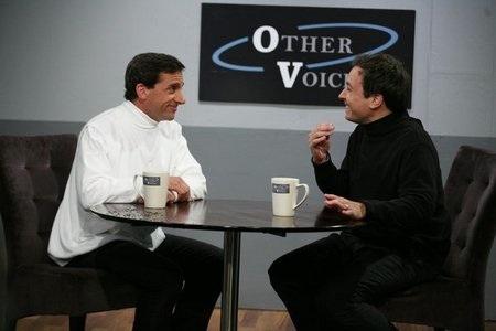 Steve Carell and Jimmy Fallon