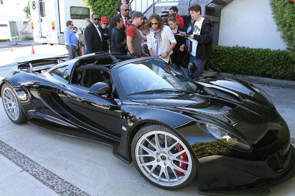 Steven Tyler $1.1 million dollar car