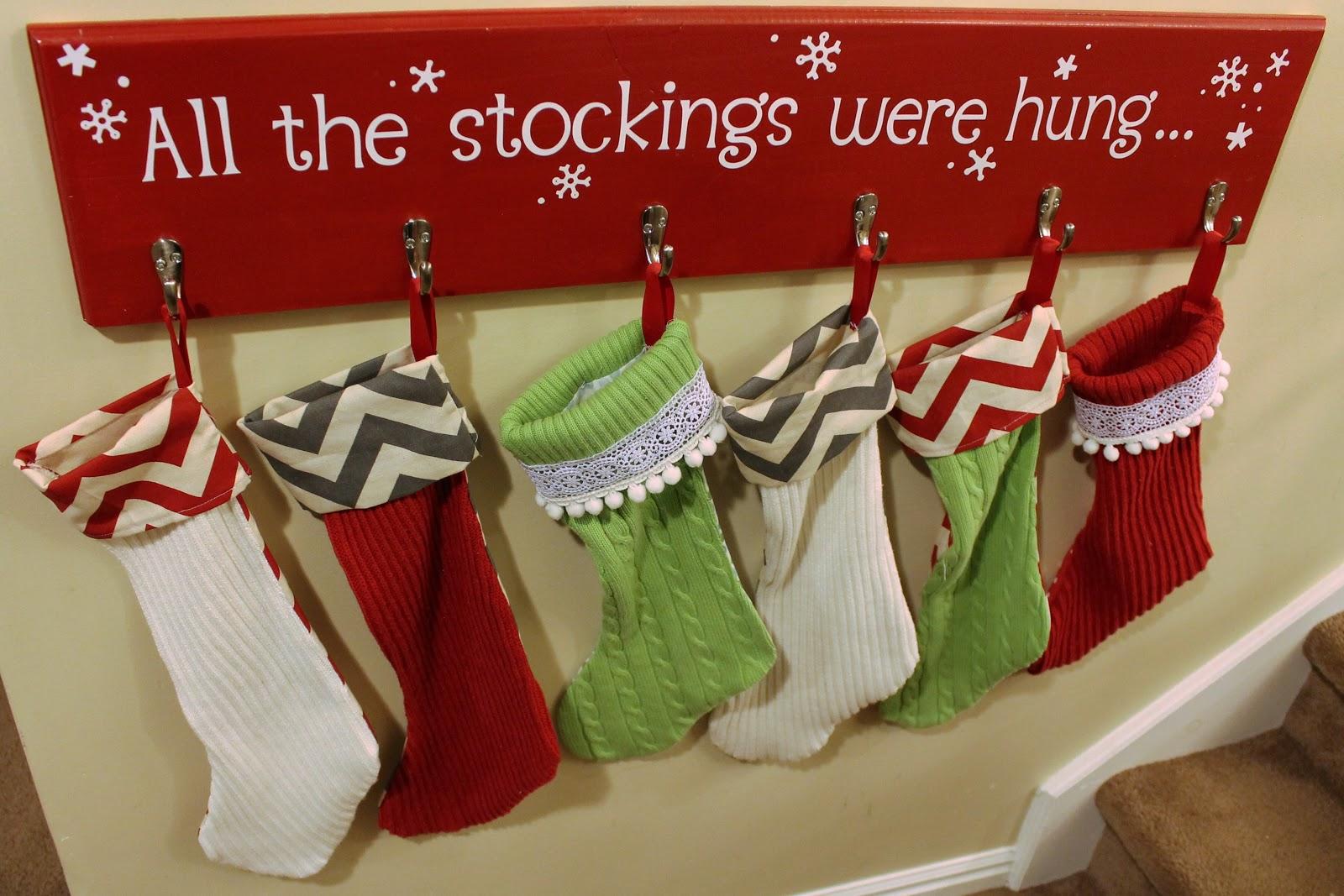 Stocking hanger