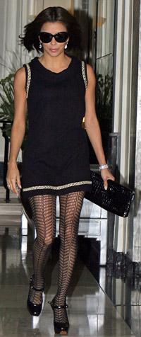 Stockings: Eva Longoria