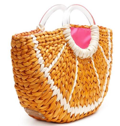 straw handbags, desginer purses, handbag trends