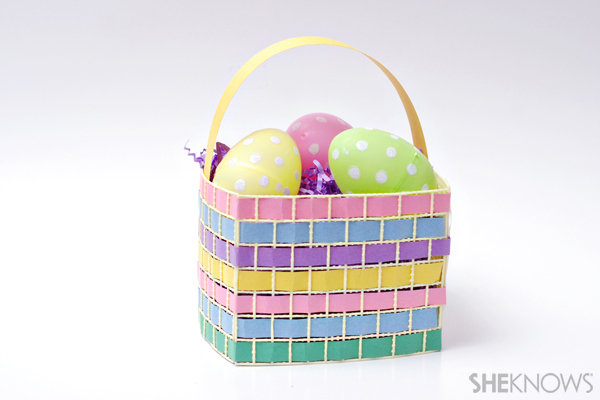 Strawberry basket Easter basket