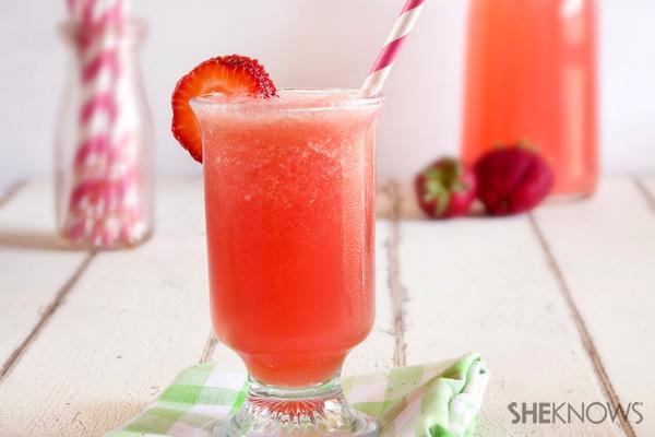 Strawbery watermelon cocktail