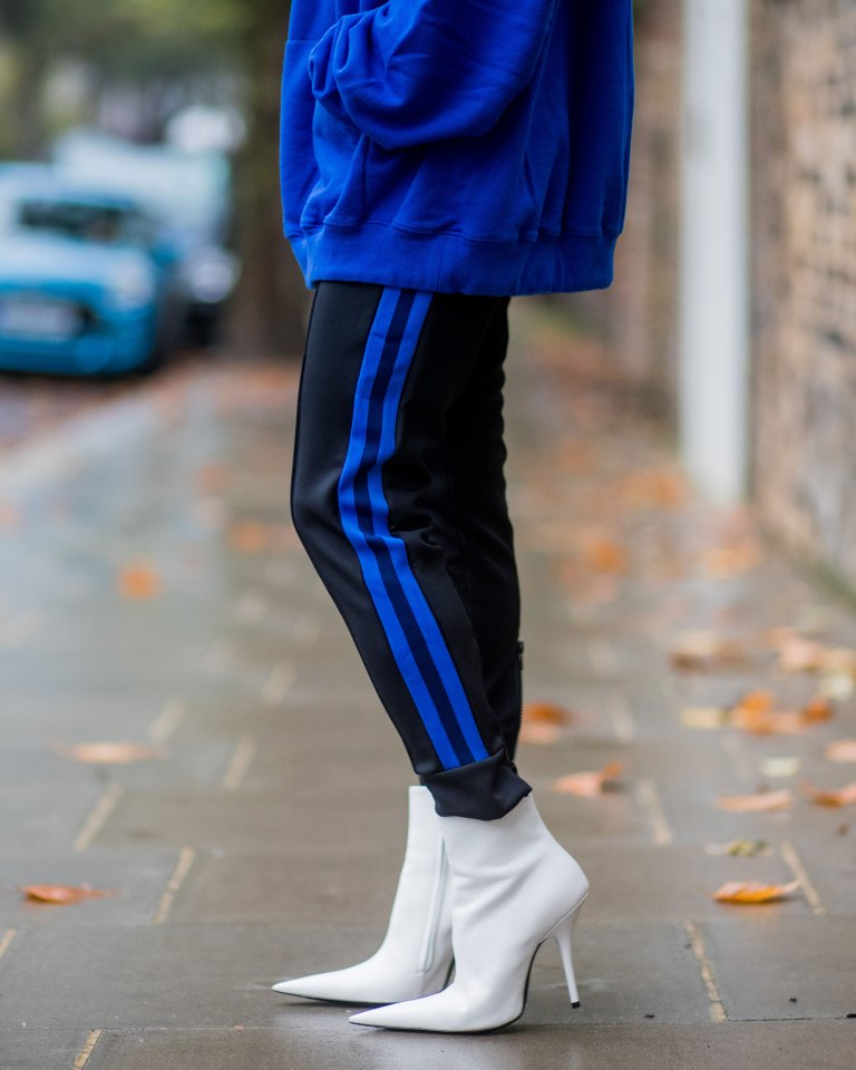 Why I Quit Wearing High Heels When I Turned 30 | Street Style white boots