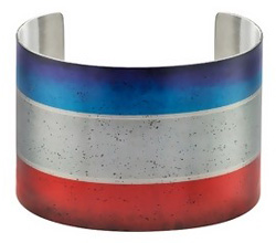 Striped cuff