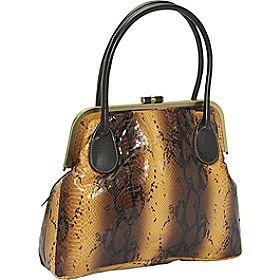 Structured handbag purse