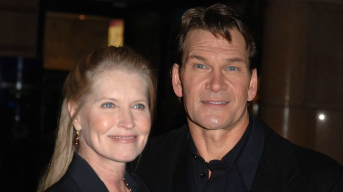 Patrick Swayze's wife forced to deny