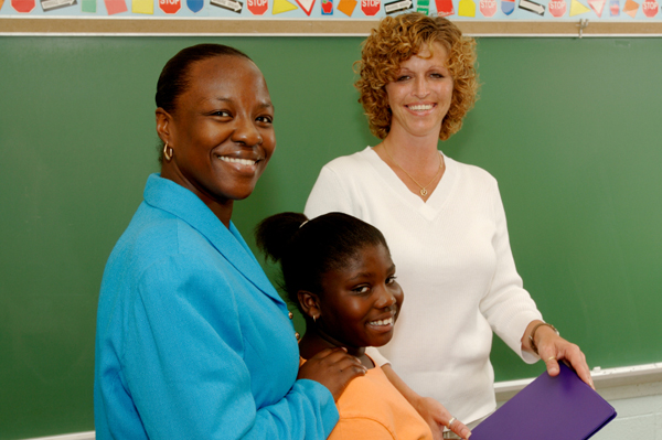 student, mom and teacher