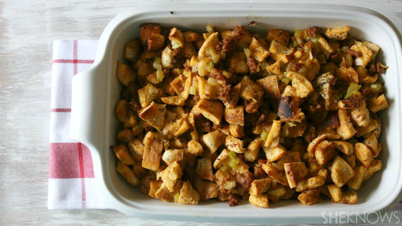 everything bagel stuffing