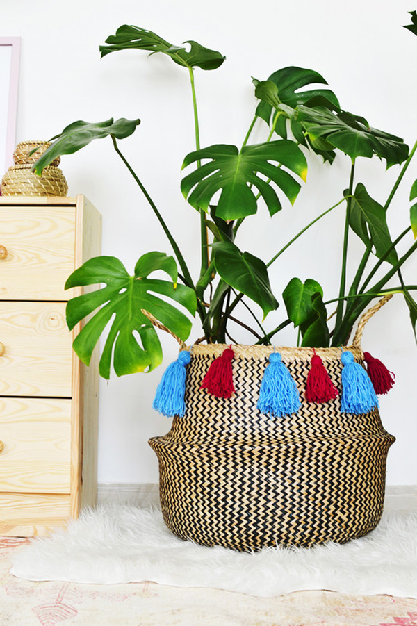 Ikea Hacks That Belong In Your Living Room: Style-focused planter
