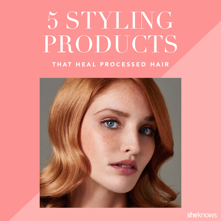 Hair styling products for damaged hair