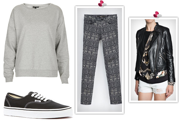 How to style a sweatshirt for play