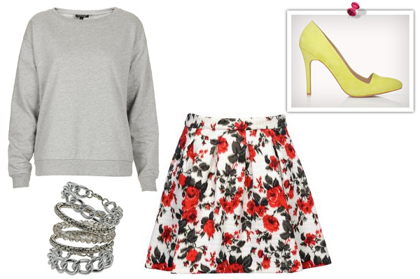 How to style a sweatshirt for date night