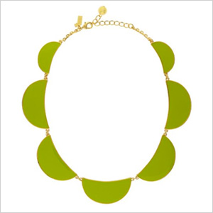 Scallop Short Necklace