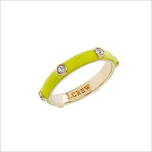 Stackable Enamel Ring