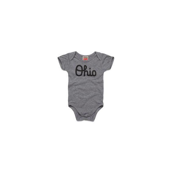 Ohio Baby Onesie