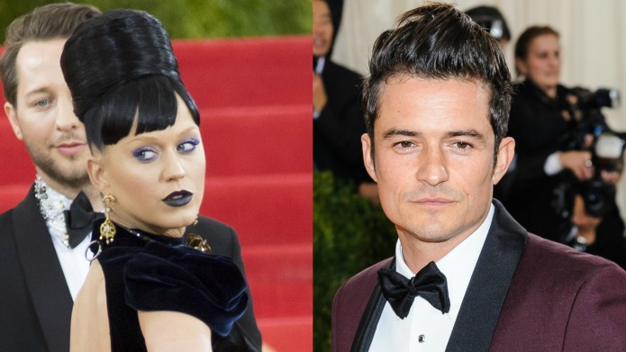 Katy Perry & Orlando Bloom accessorize