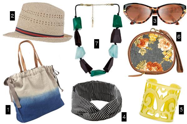 Summer accessories under $50