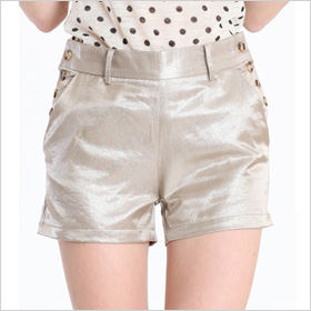 Gold Dust Shimmer Shorts($34)