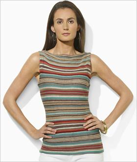 Our pick: Linen boatneck shirt, Ralph Lauren, $109