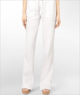 Our pick: Linen drawstring pants, Calvin Klein, $30