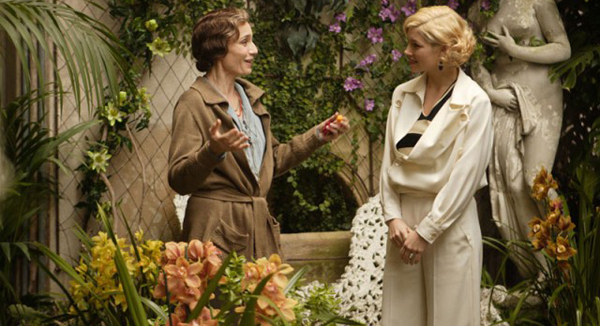 Kristen Scott Thomas and Jessica Biel in Easy Virtue