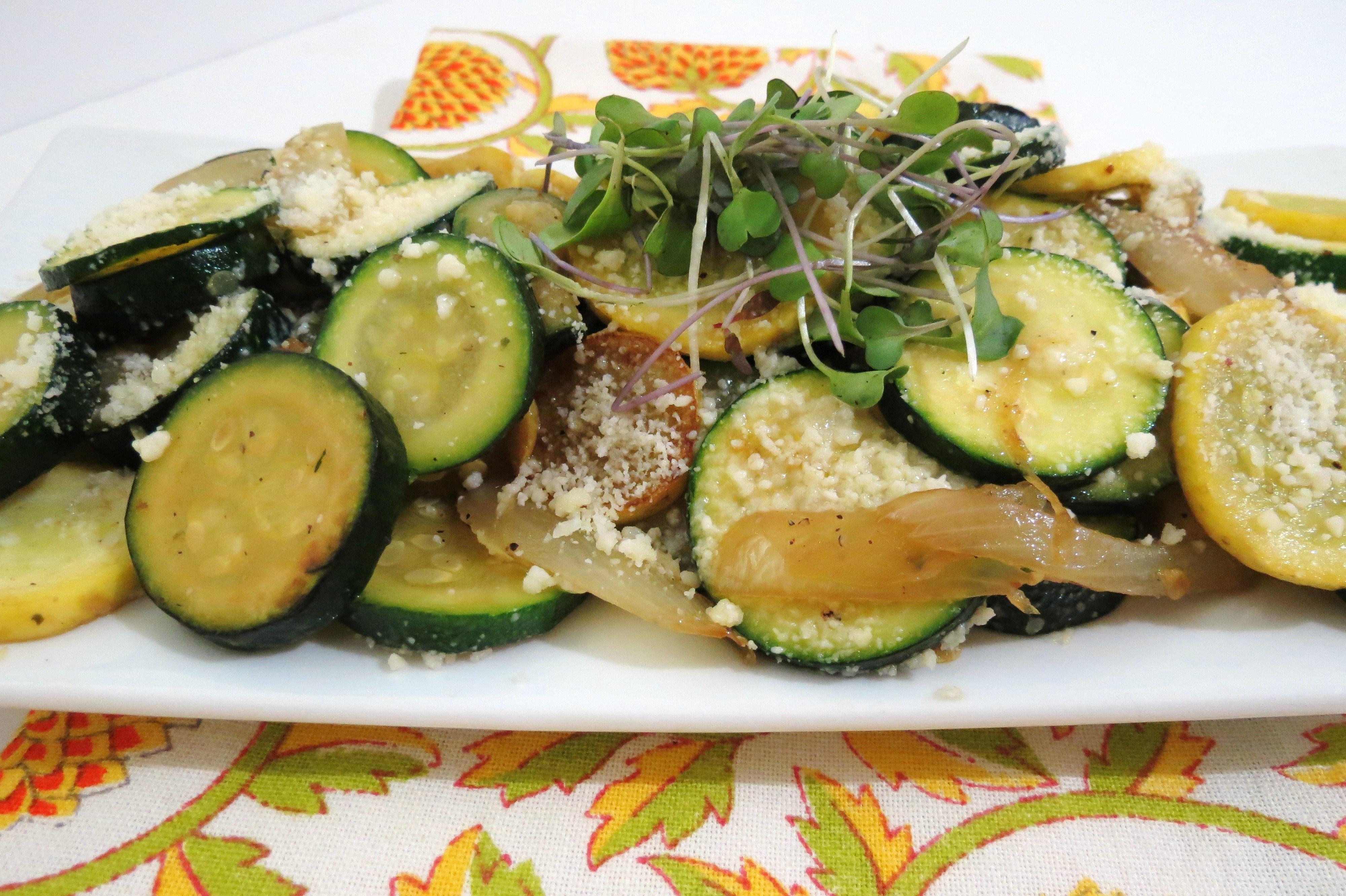 Summer squash & zucchini sauté