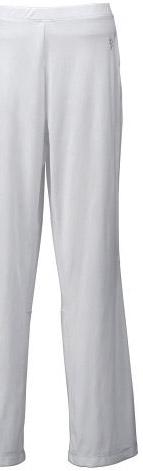 White sunblock pants