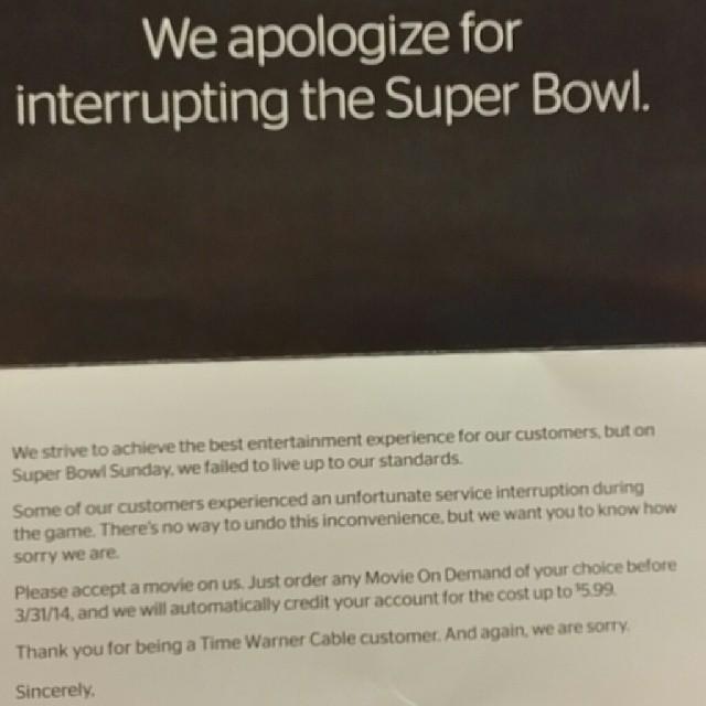 Super Bowl Fail