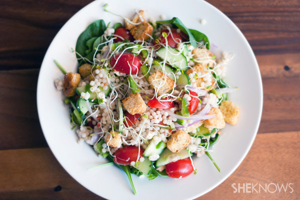 Quick and easy summer couscous salad recipe