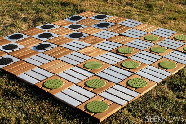 Super sized checker board