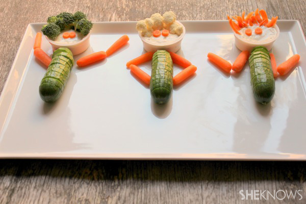 Super Snack: Veggie People