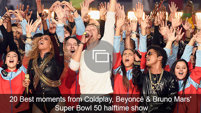 super bowl 50 halftime show slideshow