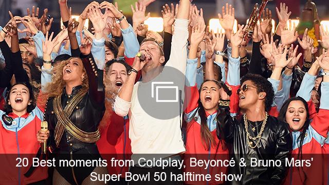 super bowl 50 halftime show slideshow