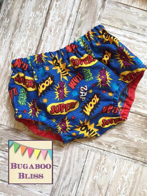 Super Hero Diaper Covers