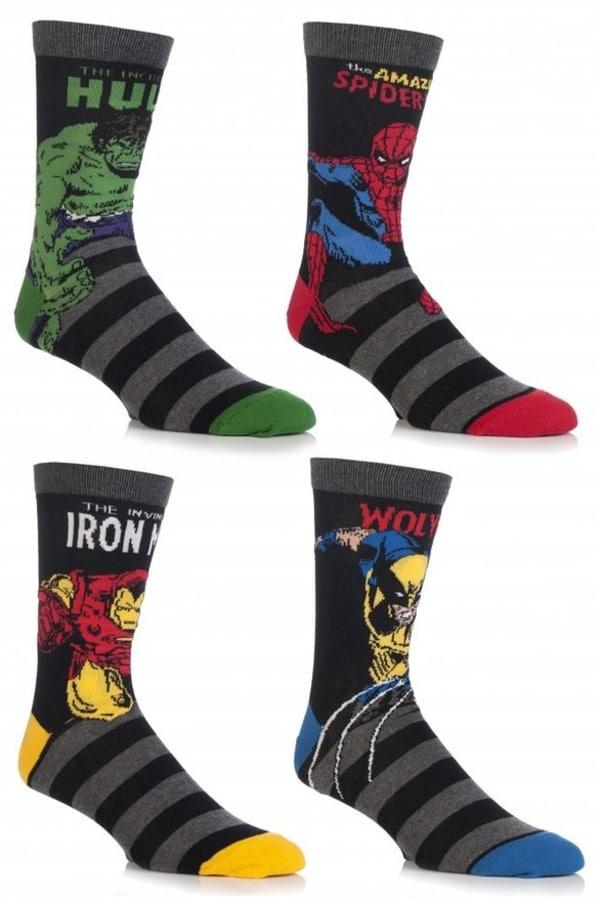 Marvel Super Hero Socks