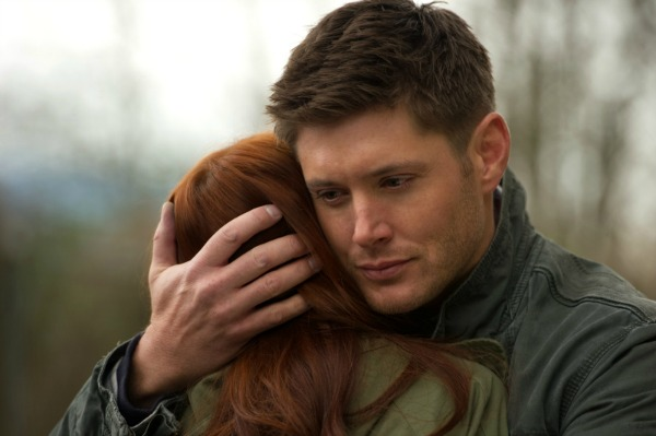 "Dean hugs Charlie in Supernatural ""Pac-Man Fever"""