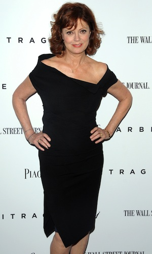 Susan Sarandon respons to Mitt Romney's 47% comments.
