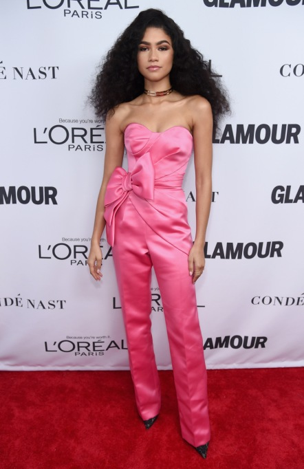 Zendaya's Killer Fashion Choices | Attending Glamour's 2017 Women of The Year Awards