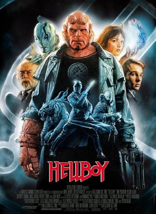 'Hellboy' DVD art