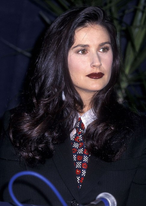 Dramatic Celebrity Hair Makeovers | Before: Demi Moore