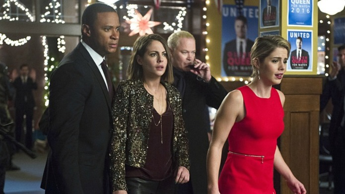 Arrow's holiday episode just schooled humans