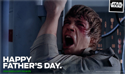 Star Wars Father's Day cards 2