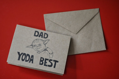 Star Wars Father's Day cards 7