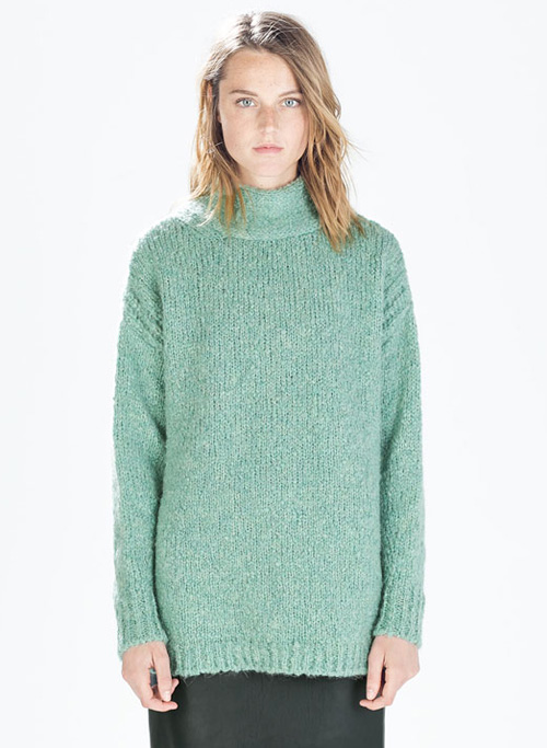 Zara mint sweater