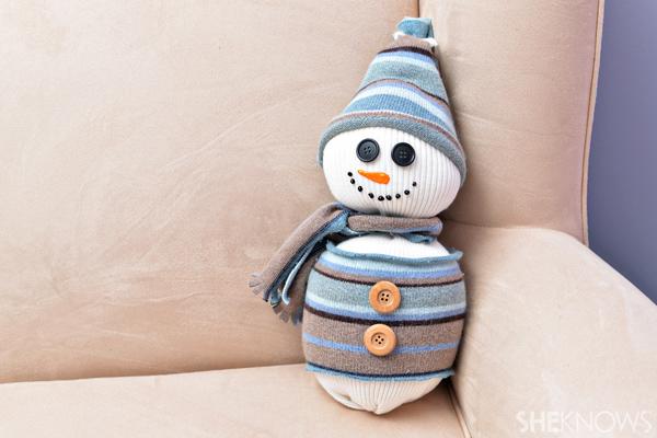 Sweater snowman craft