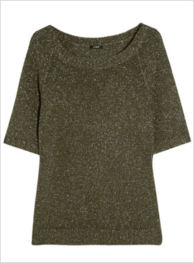 rhinestone trim top from Nordstrom