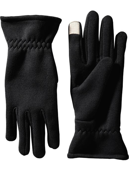 sweater knit tech tip gloves old navy
