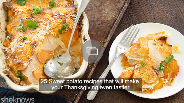25 Sweet potato recipes that will make your Thanksgiving even tastier
