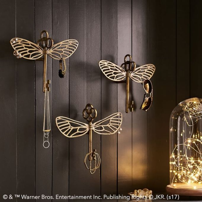 PB Teen Harry Potter Collection: Display your jewelry on these pretty hooks